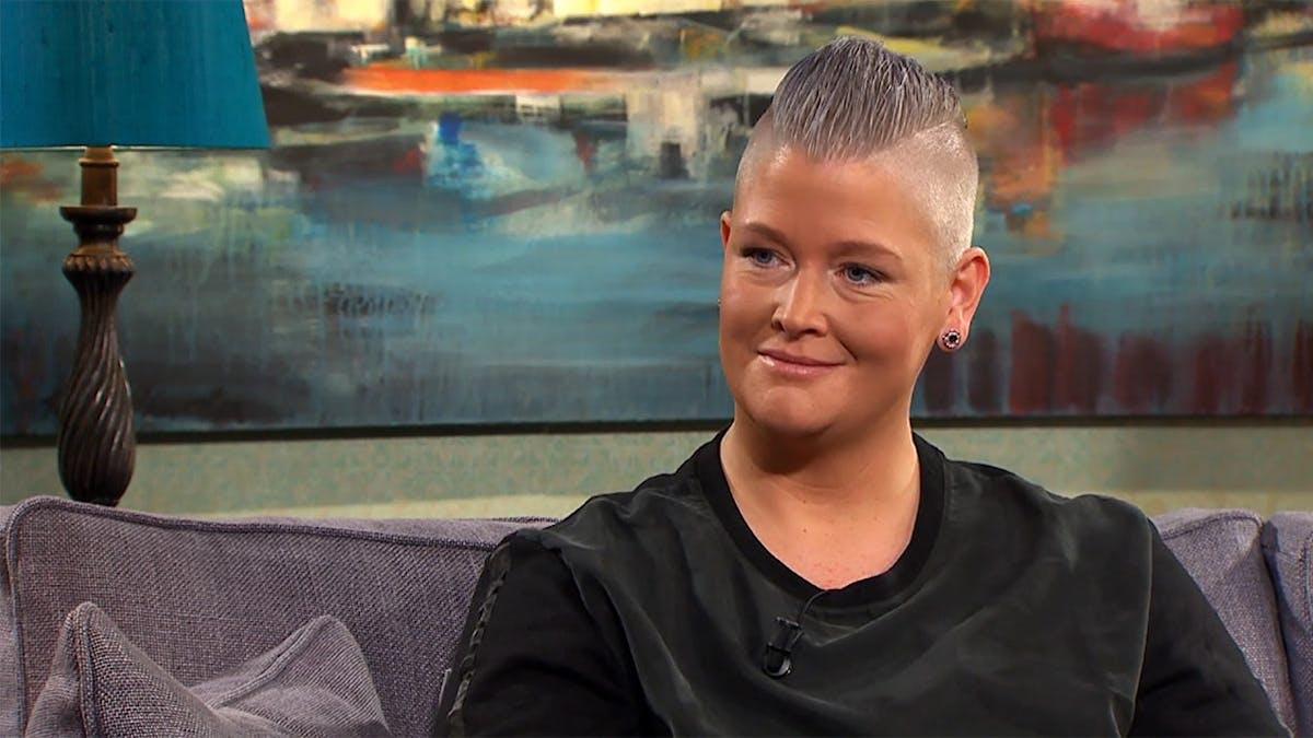 Therese Olofsson hos Malou, efter 130 kilos viktminskning på LCHF