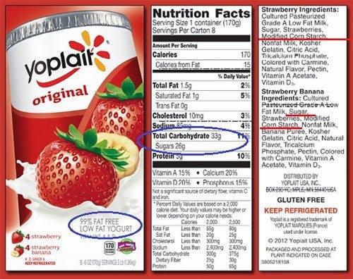 Studie visar att fettsnåla produkter innehåller mer socker