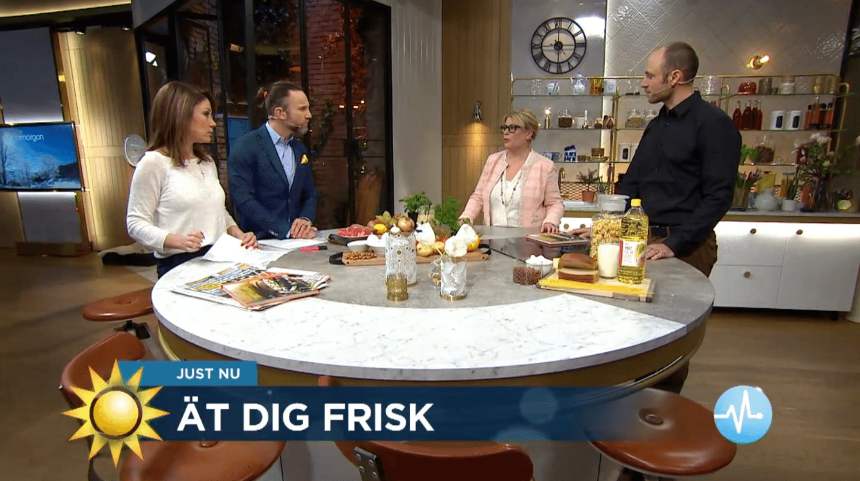 Ät dig frisk – autoimmun paleokost på Nyhetsmorgon