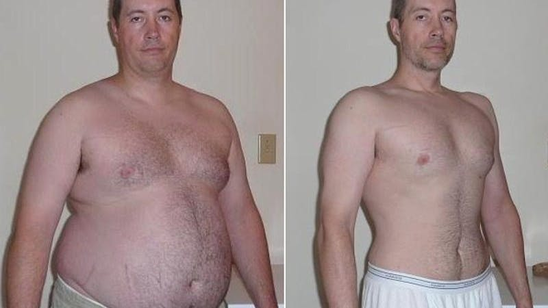Så gick Jason ner 40 kg på nio månader