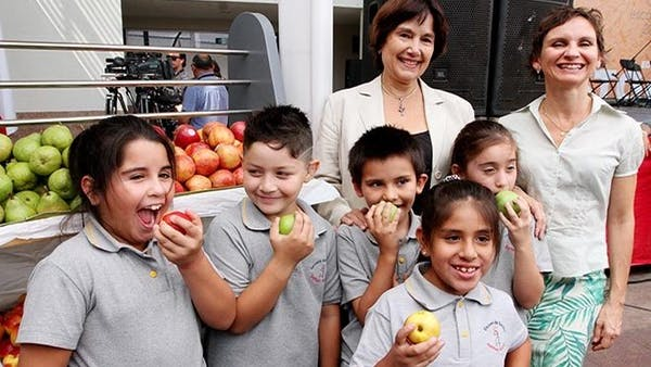 Chile tar bort skräpmat från skolorna