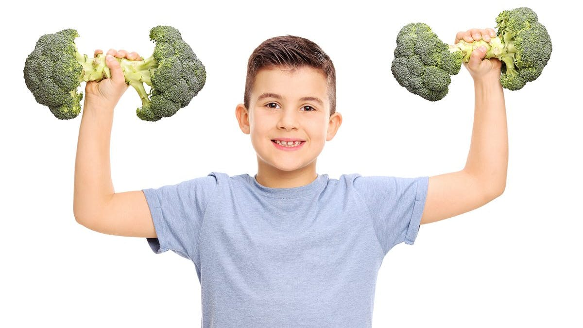 Så får du dina barn att tycka om riktig mat