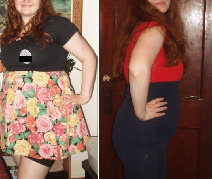 """""""Jag trodde inte att jag kunde bli smal – nu är jag tillbaka på min tonårsvikt"""""""