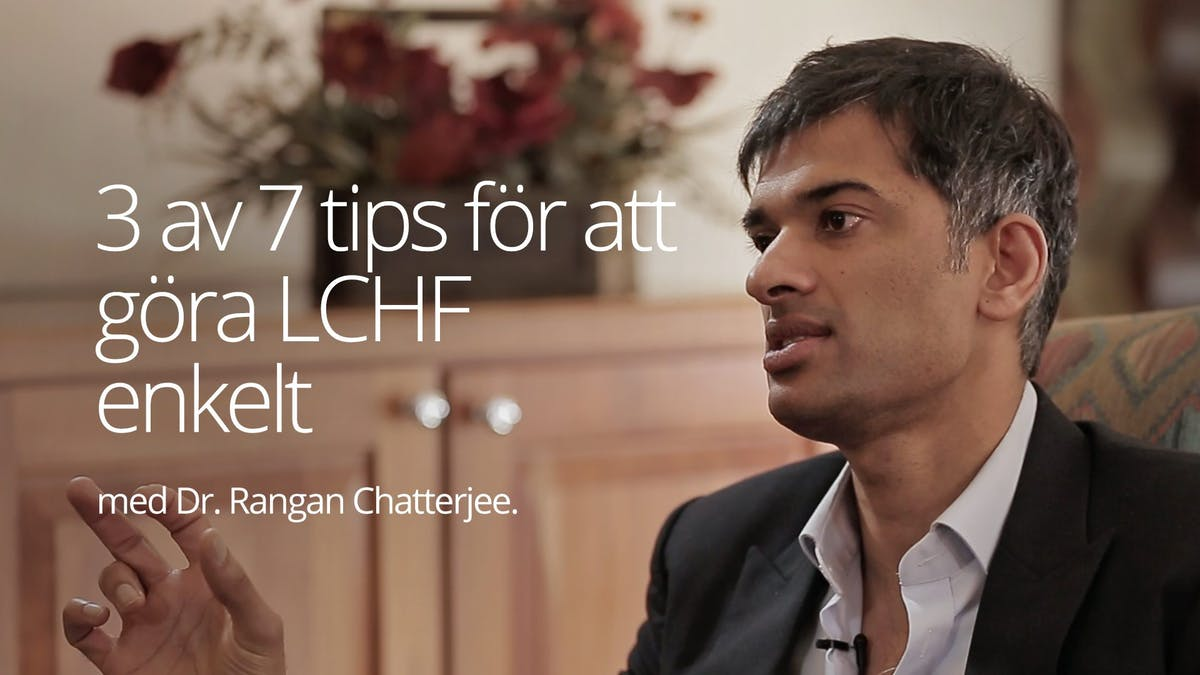 Tre av sju tips om att göra LCHF enkelt