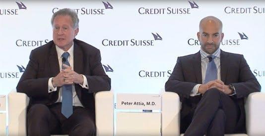 Professor Robert Lustig och dr Peter Attia diskuterar socker, fetma och att leva länge