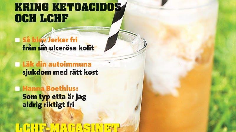 Årets andra nummer av LCHF-magasinet ute nu
