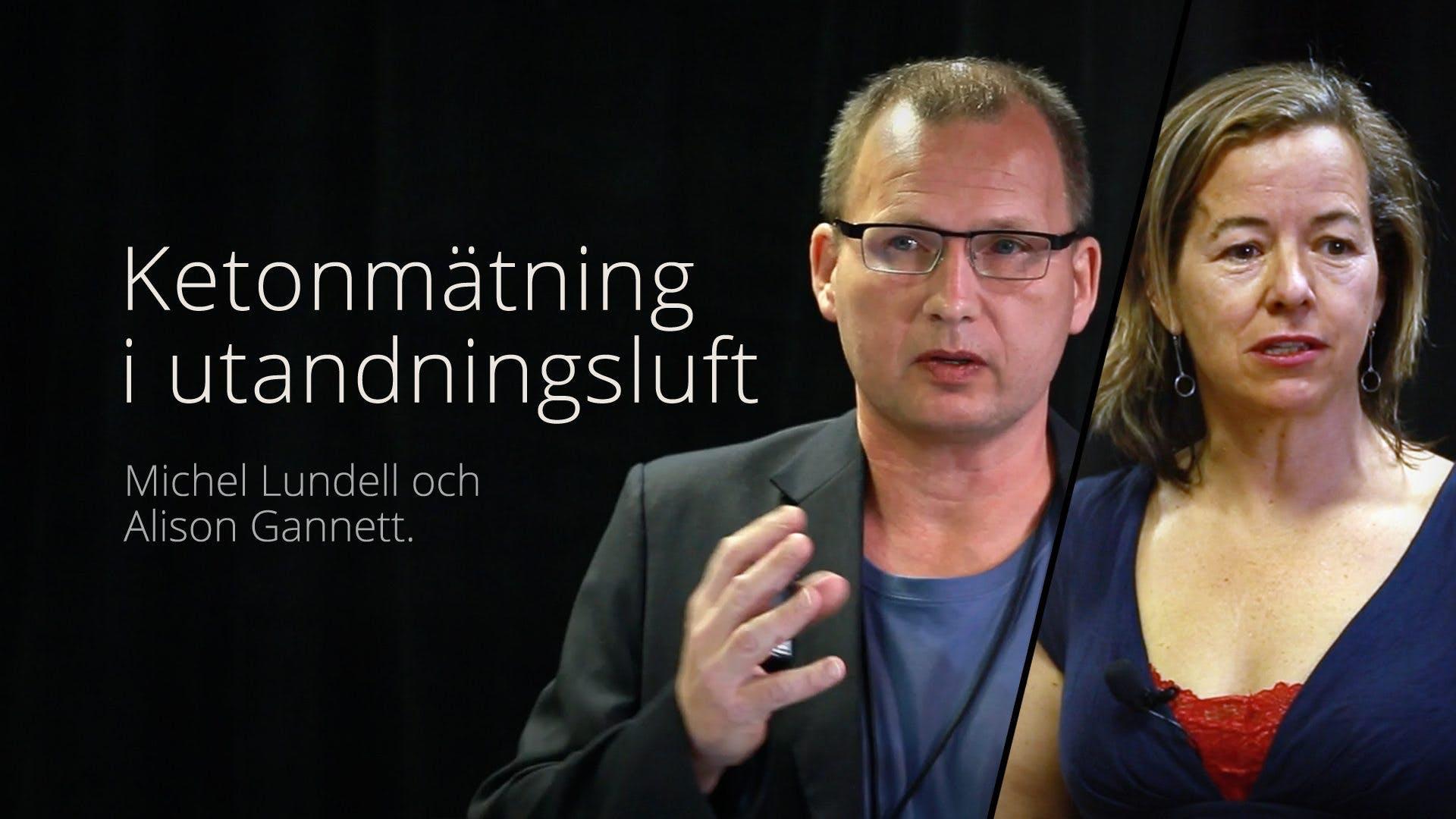Ketonmätning i utandningsluft – föreläsning med Michel Lundell och Alison Gannett