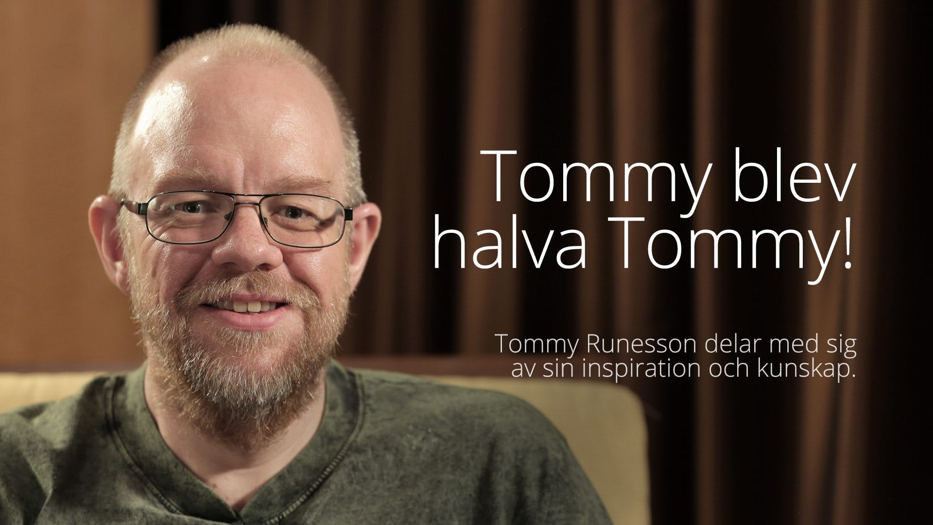 Tommy Runesson - Tommy blev halva Tommy! (LCC 2016)
