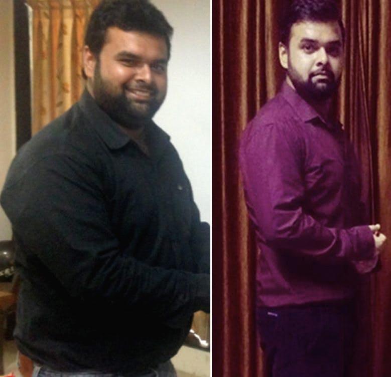"""""""Man bara äter och går ner i vikt, vem hade trott det?"""""""