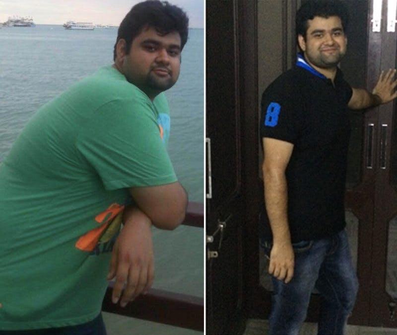 Bror Tarun före och efter