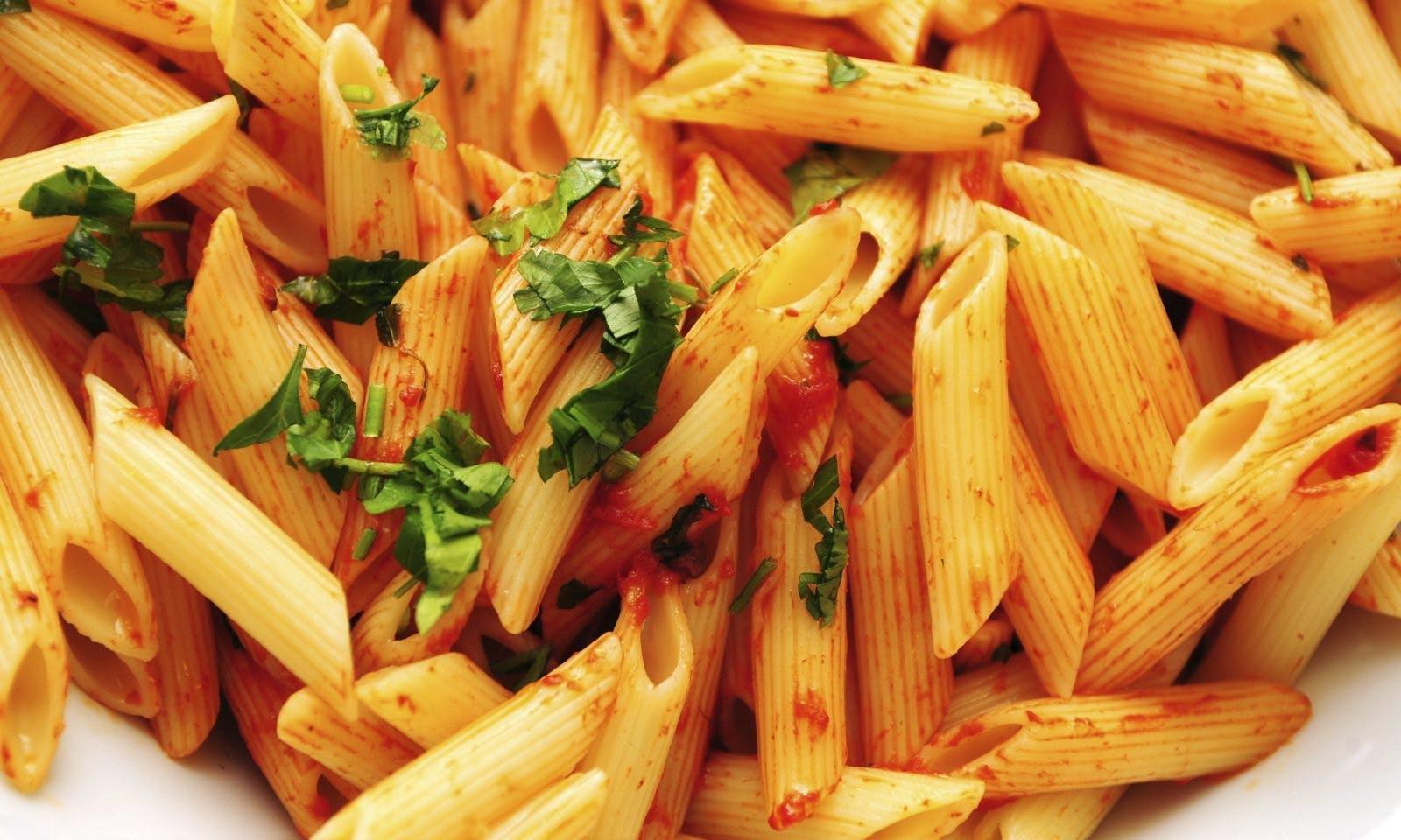 Pasta gör dig smal enligt bisarr forskningsrapport från Barilla - lurar media