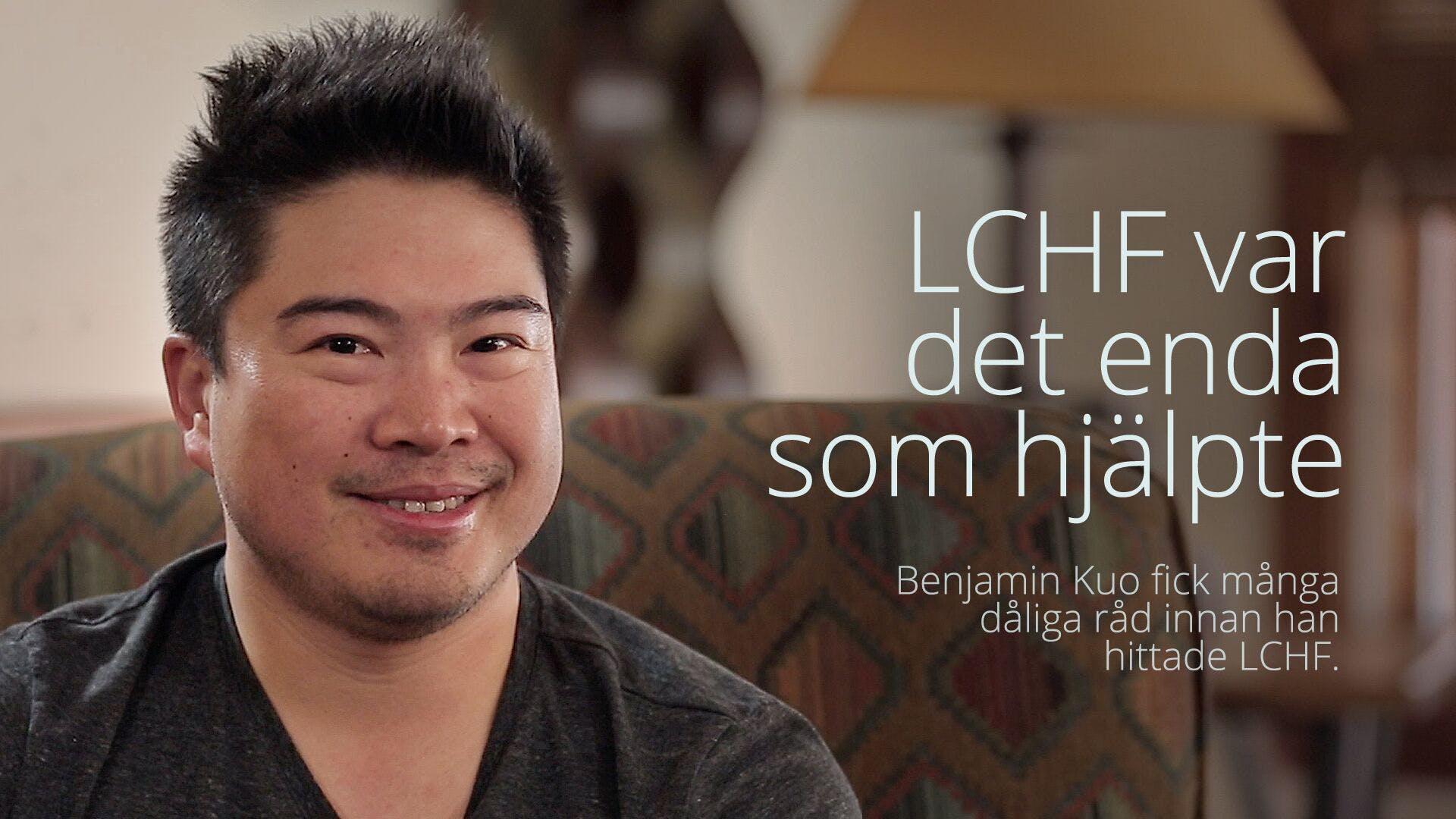LCHF var det enda som hjälpte - hela intervjun