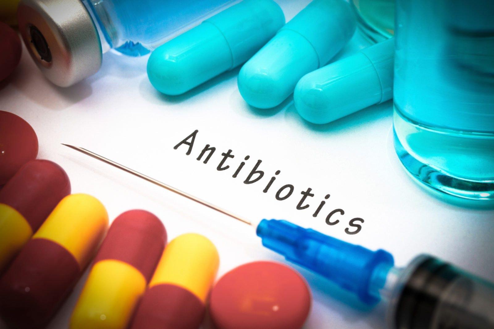 hur länge äter man antibiotika