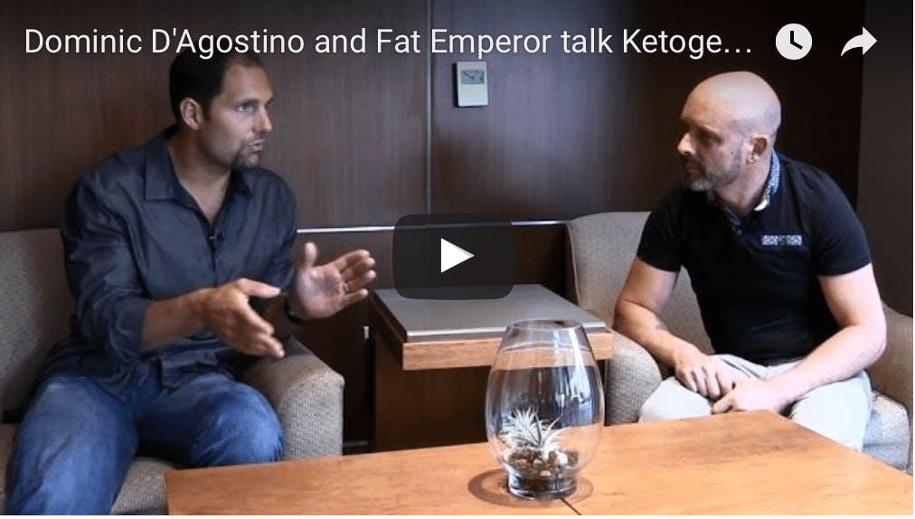 Dominic D'Agostino och Ivor Cummins pratar ketogen kost och cancer
