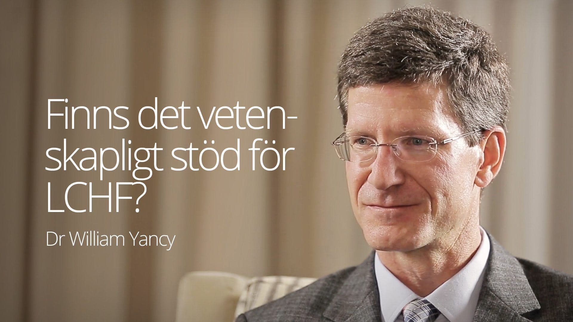 Dr. William Yancy - Interview (SF 2016)