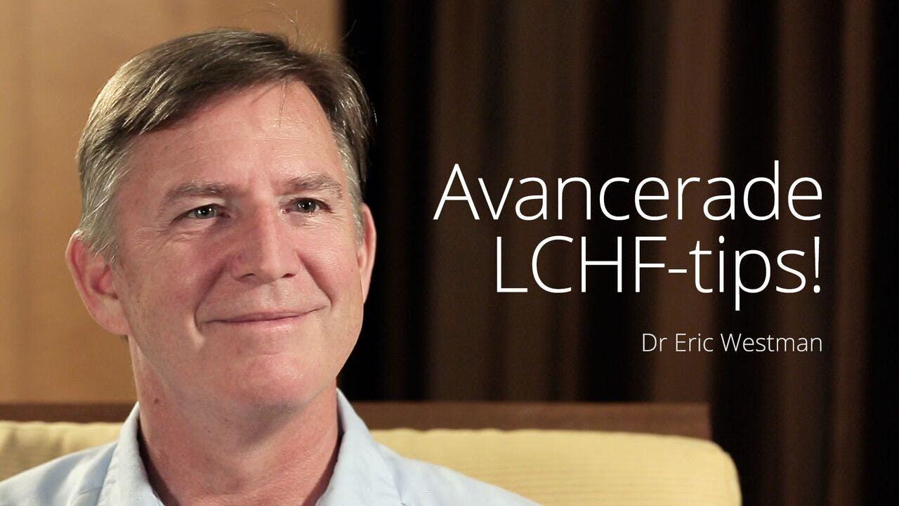 Avancerade LCHF-tips –dr Eric Westman