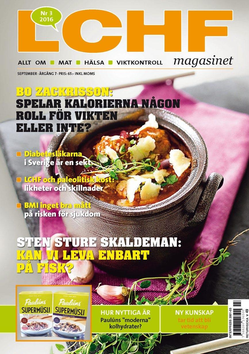 LCHF-magasinets höstnummer!
