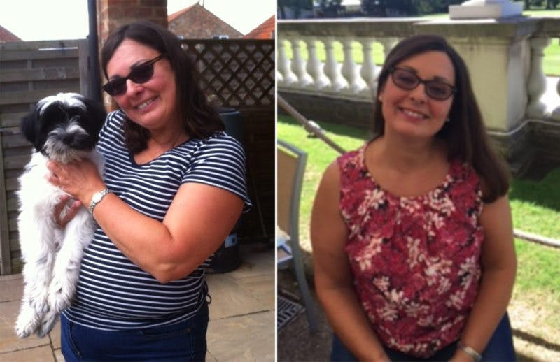 """""""Jag var häpen över allt jag kunde äta och över hur mycket jag gick ner i vikt"""""""