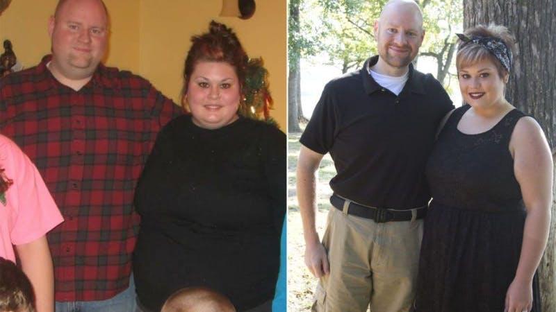 Par går ner 109 kg tillsammans på ett år med hjälp av LCHF och träning