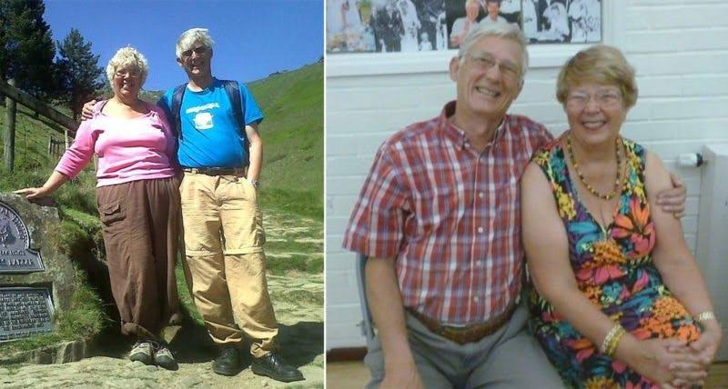 Pat och hennes make – före och efter