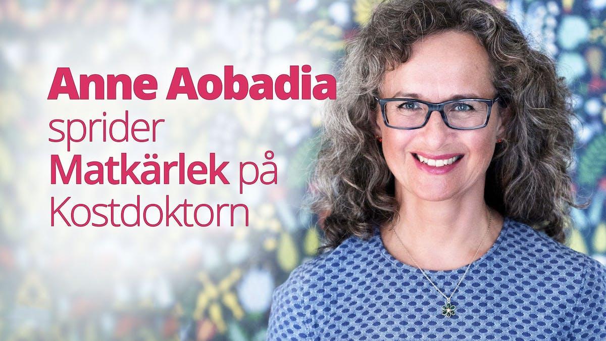 Vår nya LCHF-receptsajt lanseras idag, och vi välkomnar Anne Aobadia!