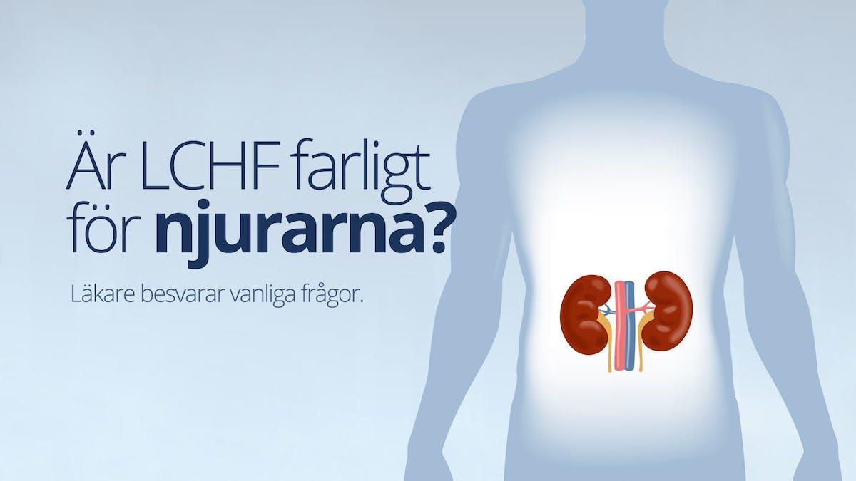 Är LCHF farligt för <strong>njurarna</strong>?