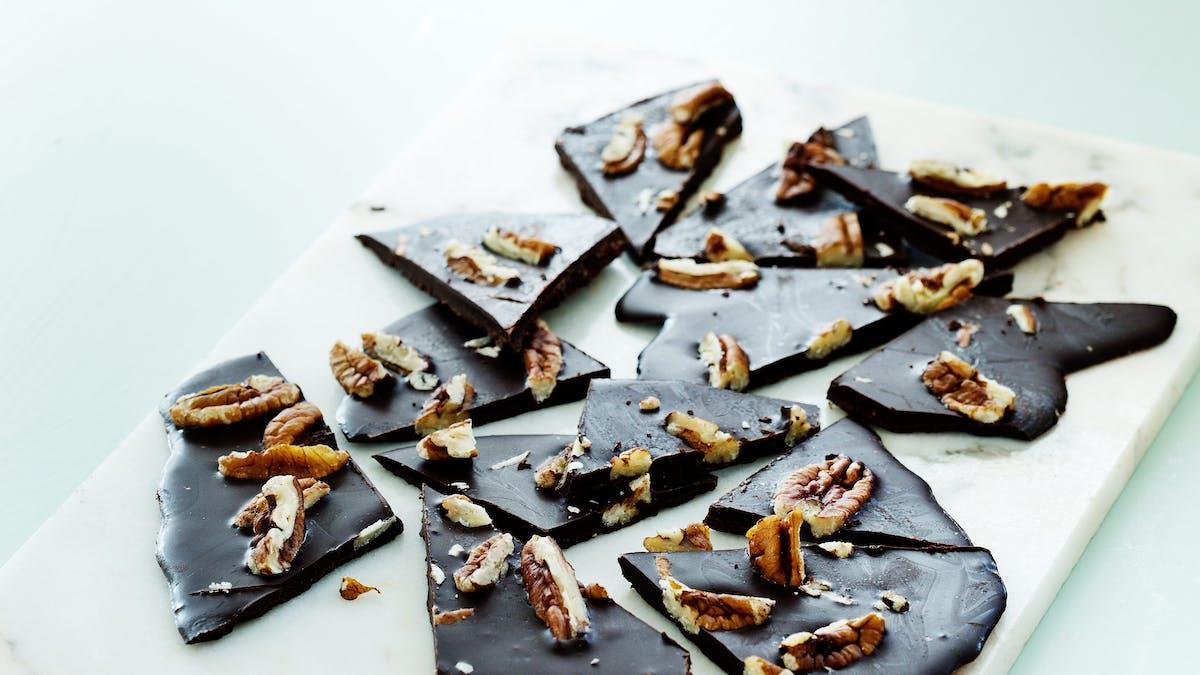 Chokladflarn med pekan