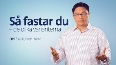 Så fastar du – de olika varianterna – Dr Jason Fung