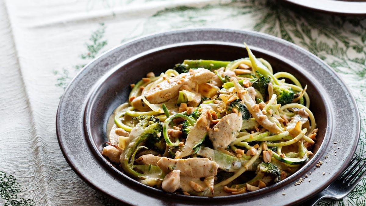 Kycklingwok med grönsaker