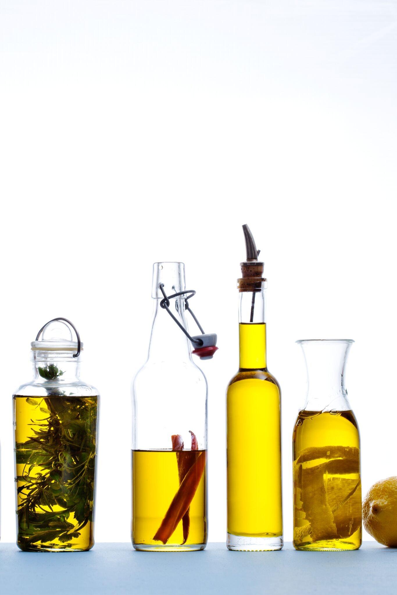 Egen olivolja med chili