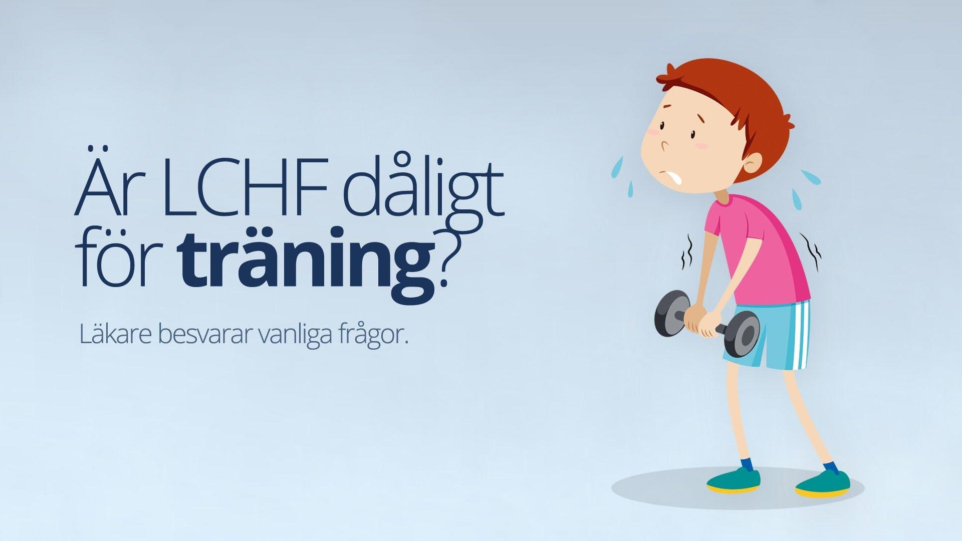 Är LCHF dåligt vid träning?