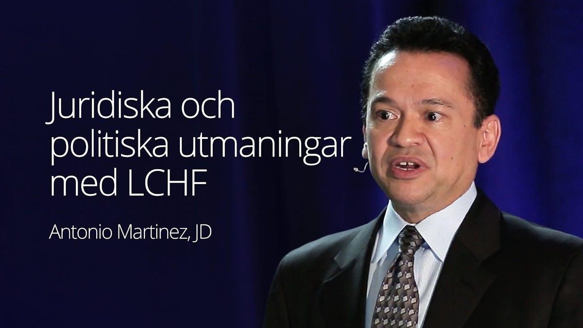 Juridiska och politiska utmaningar med LCHF
