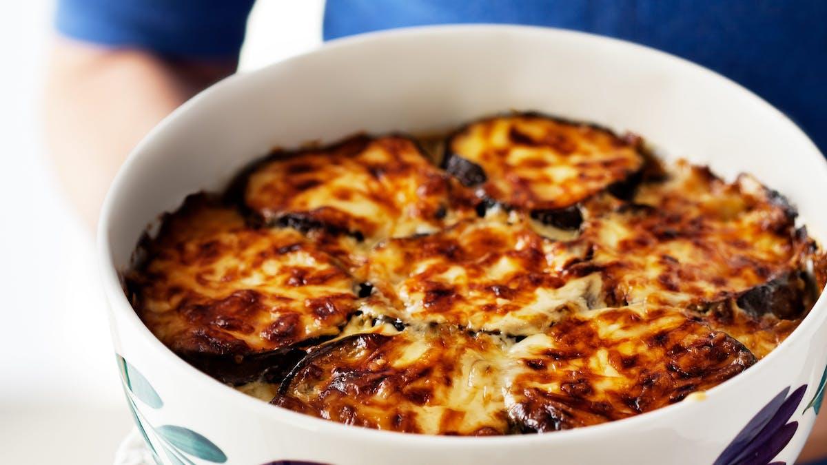 #5 Populäraste måltid 2017 – Auberginegratäng
