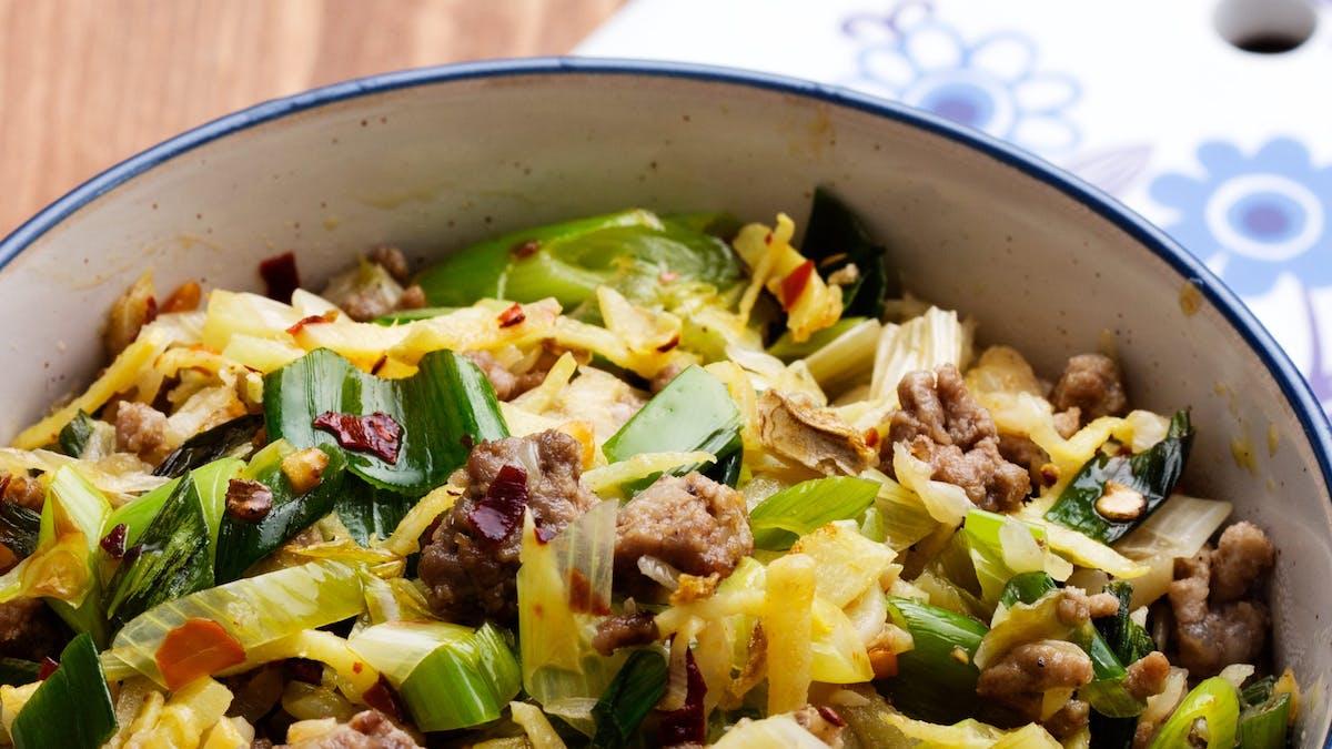 #2 Populäraste måltid 2018: Asiatisk kålpanna