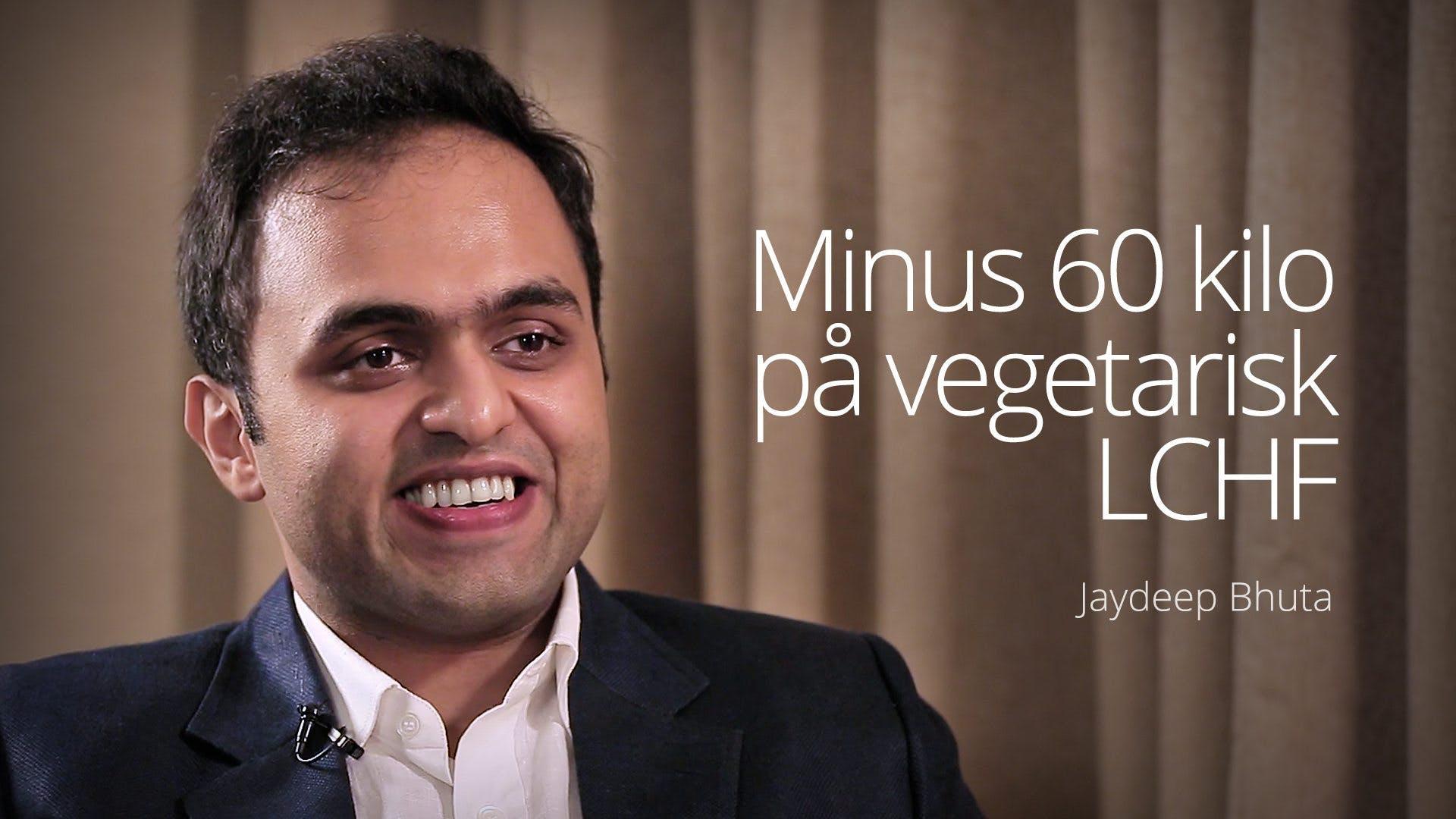 Minus 60 kilo med vegetarisk LCHF