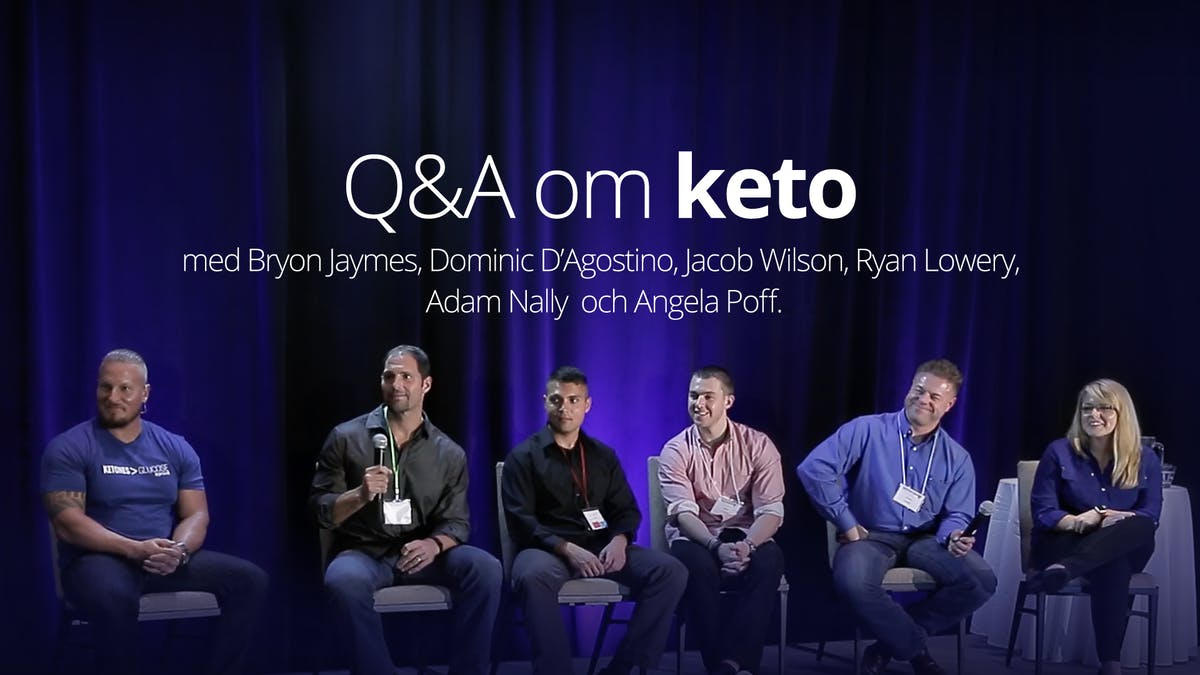 Frågor och svar om ketogen kost