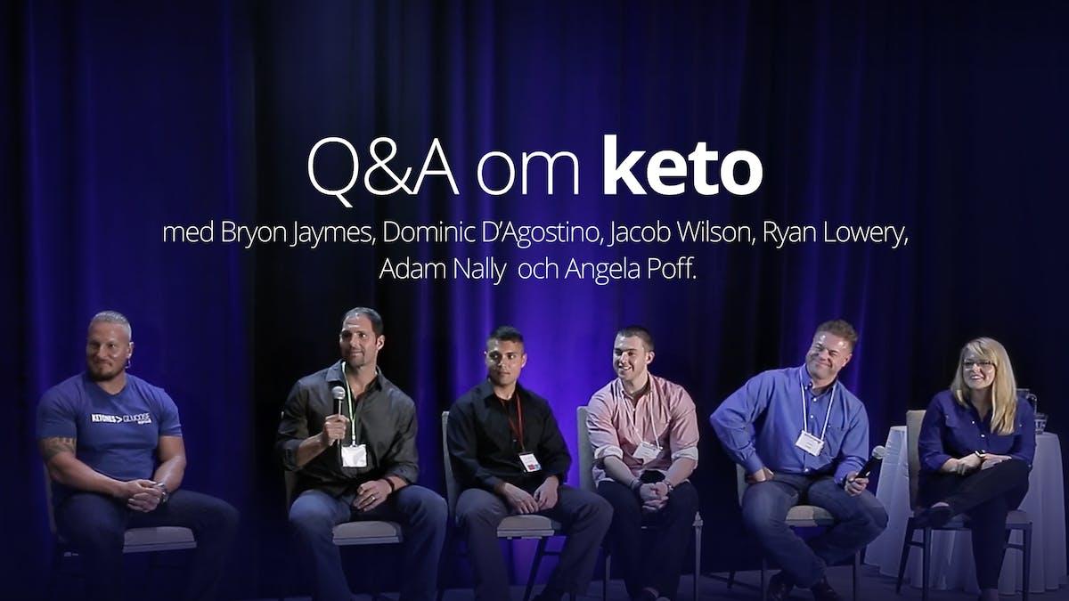 Q&A om ketogen kost