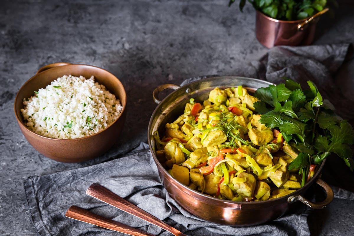 Indisk matglädje med få kolhydrater