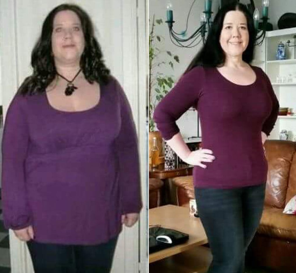 """""""Jag blev starkare och rörligare och jag mådde oförskämt bra med min nya kosthållning"""""""