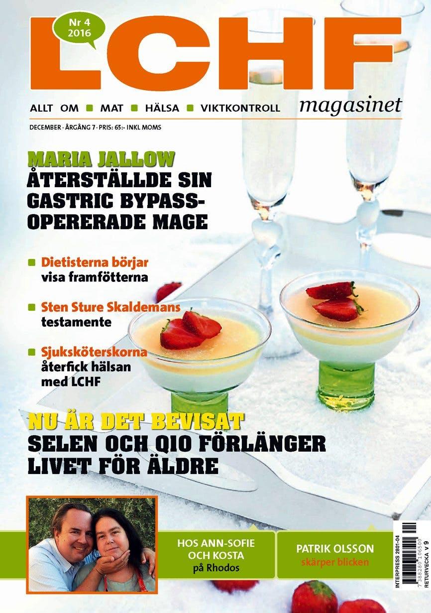 Nya numret av LCHF-magasinet – nu ute i butik