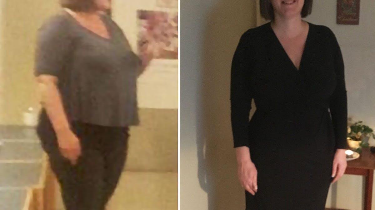 """""""Jag har utan ansträngning gått ner 20 kilo och tar inte längre någon medicin"""""""