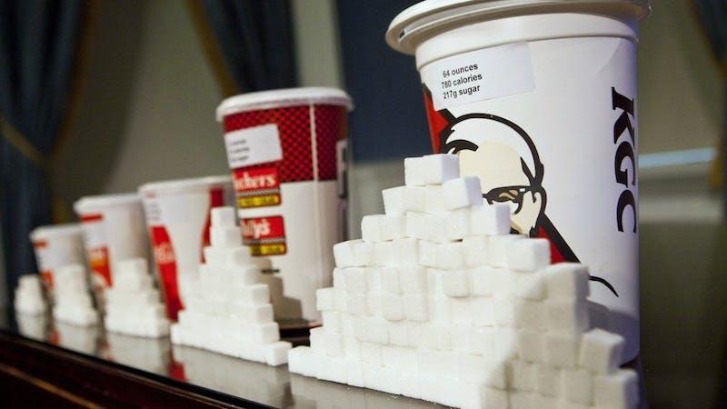 Begränsningen i riktlinjer för socker