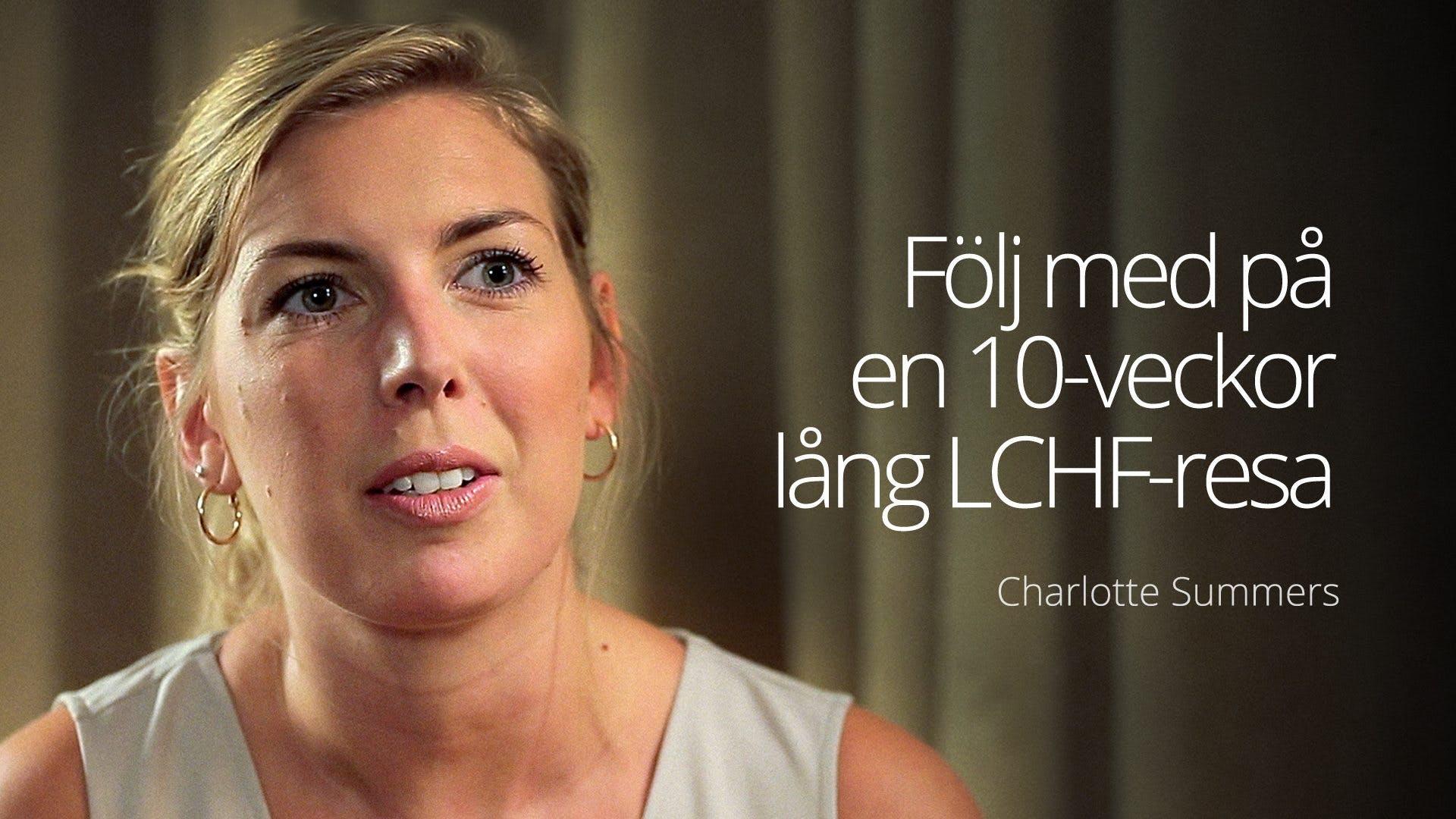 Följ med på en 10 veckor lång LCHF-resa