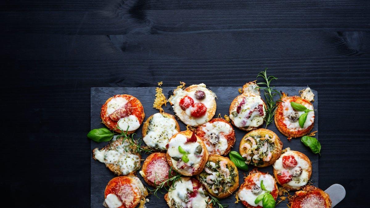 Glutenfria LCHF-pizzor