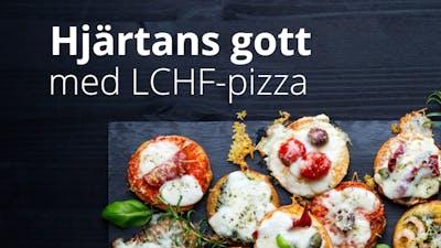 LCHF-pizzor