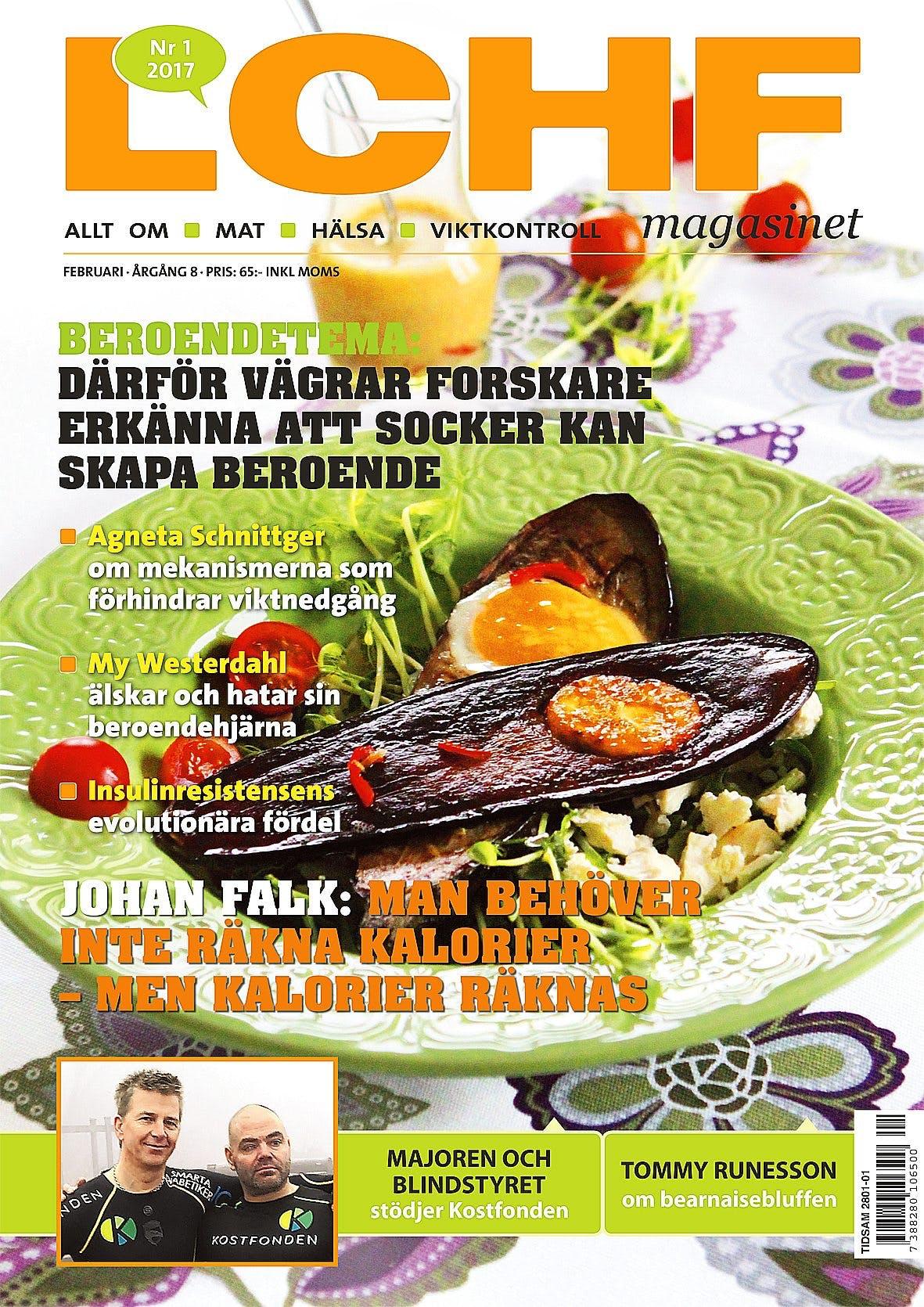 Nystart för LCHF-magasinet!