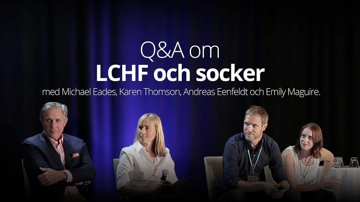 Frågor och svar om LCHF och socker