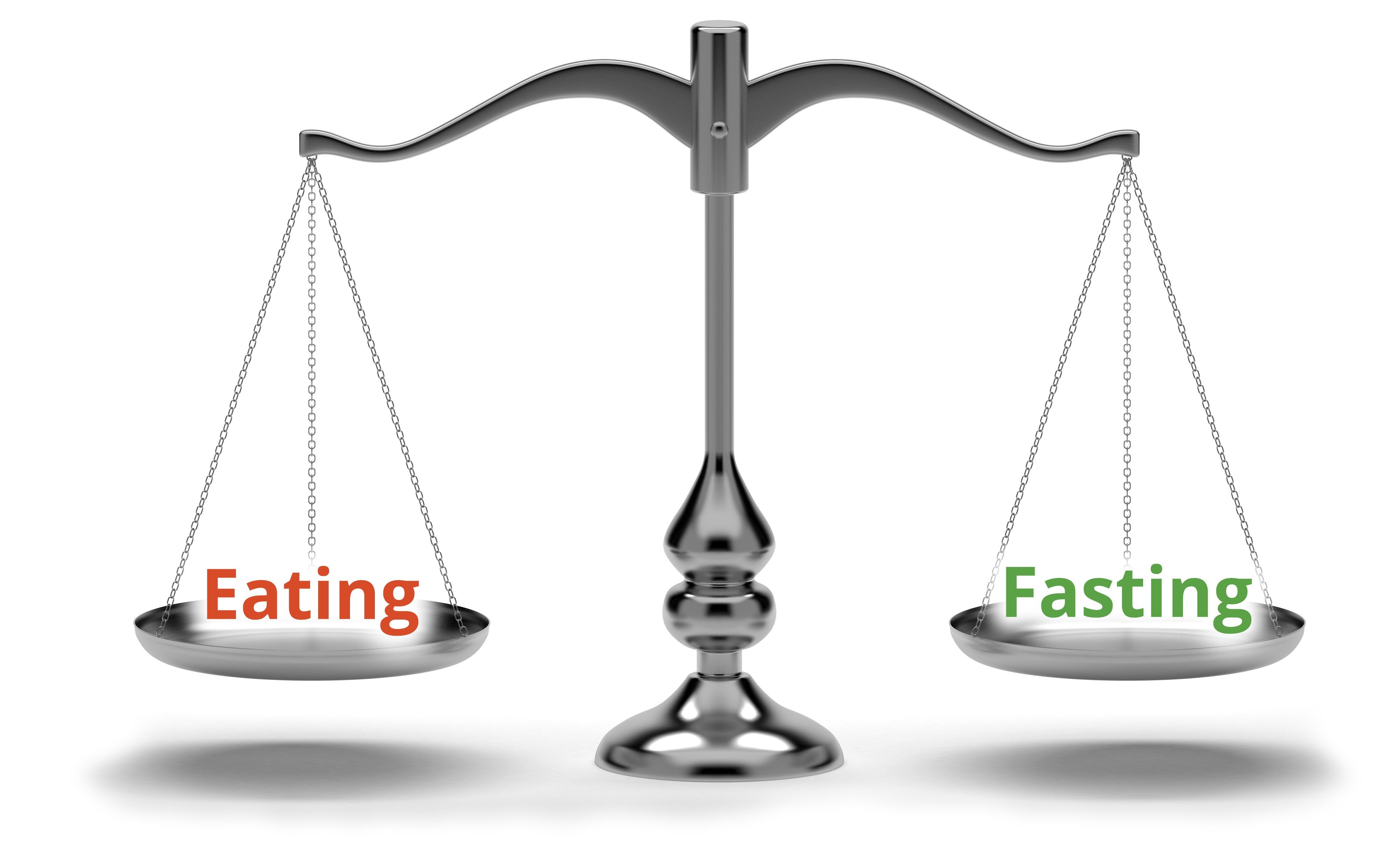 Balancing eating and fasting