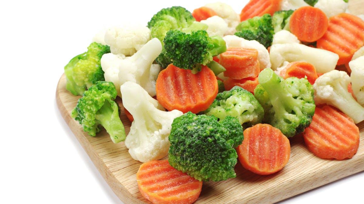 Frysta eller färska grönsaker – vad är nyttigast?