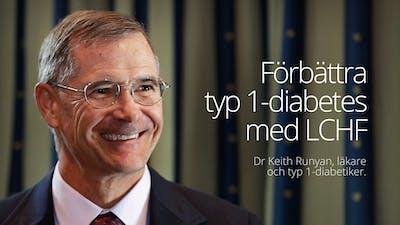 Förbättra typ 1-diabetes med LCHF